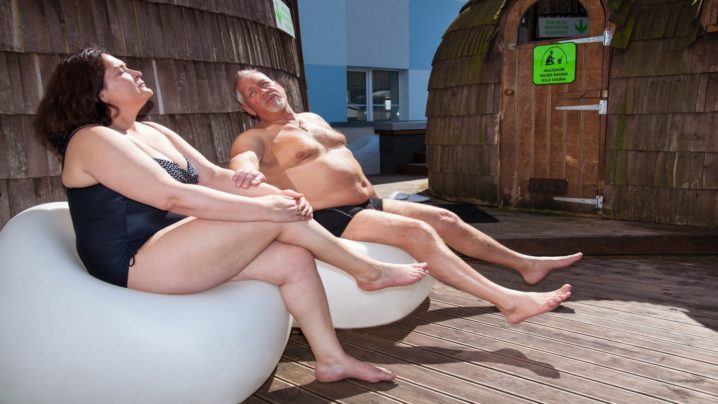 Igloo sauna I Viiking Spa Hotel I Water center in Pärnu