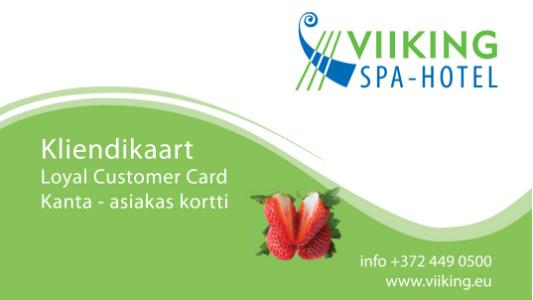 Asiakaskortti |Viiking Spaa Hotelli | Majoitus Pärnussa