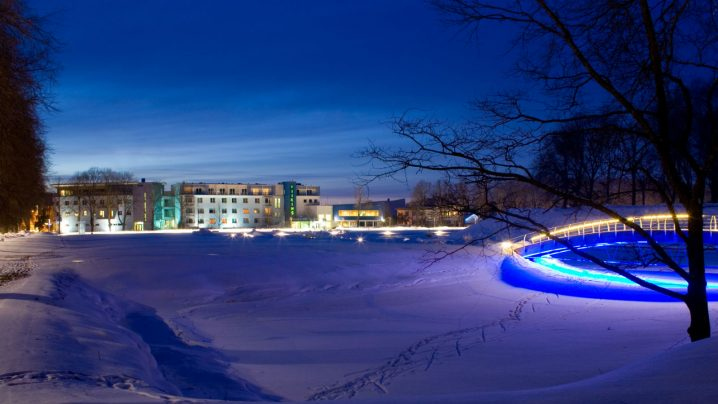 View in the winter | Viiking Spa Hotel | Spa in Pärnu