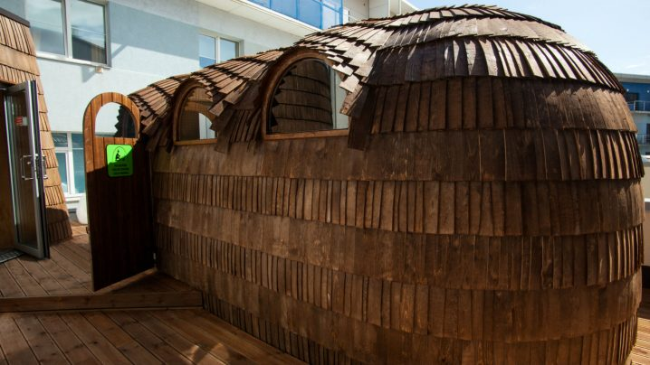 Viking tepee sauna | Water and sauna center | Pärnu spa