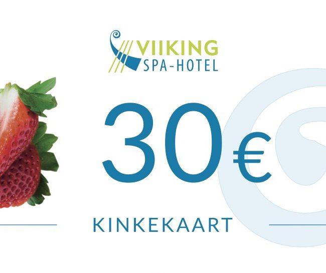 Kinkekaart 30€ I Viiking Spaa Hotell Pärnus I Kinkekaart e-pood