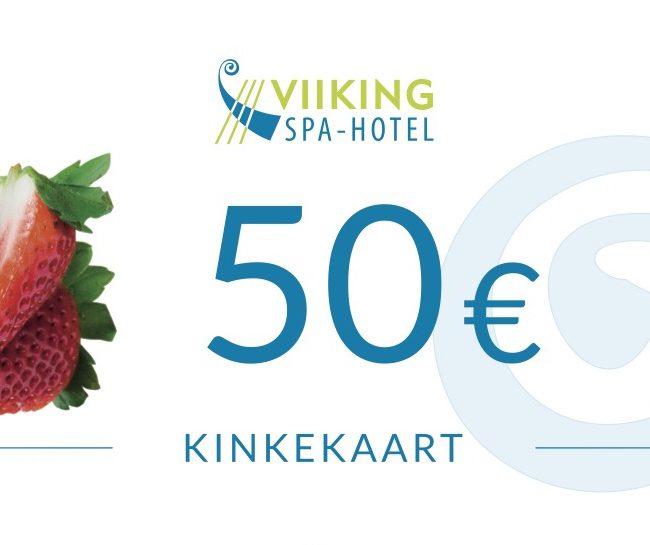 Kinkekaart 50€ I Viiking Spaa Hotell Pärnus I Kinkekaart e-pood