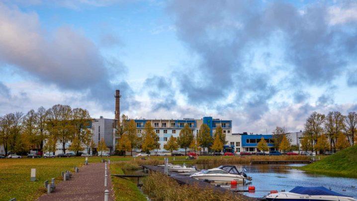 Hotelli fassaad I Viiking Spaa Hotell I Majutus Pärnus
