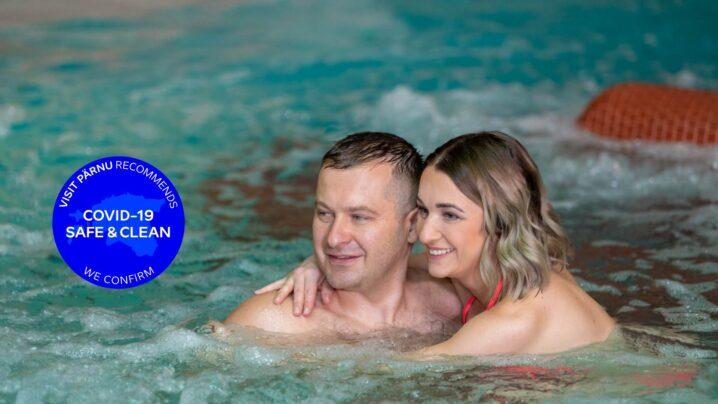 Paar veekeskuses | Viiking Spaa Hotell | Veekeskus Pärnus